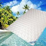 Sommerdecke Bettdecke Wildseide-Baumwolle 135x200 leicht, Füllung 60% Seide und 40% Baumwolle