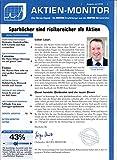 Aktien Monitor 7 2018 Covestro Evotec Zeitschrift Magazin Einzelheft Heft Börsenbrief