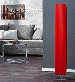 Stehleuchte / Stehlampe in rot 15x15cm Höhe:120cm Standlampe Lampe Latex Bodenlampe Bodenleuchte Beleuchtung Leuchte
