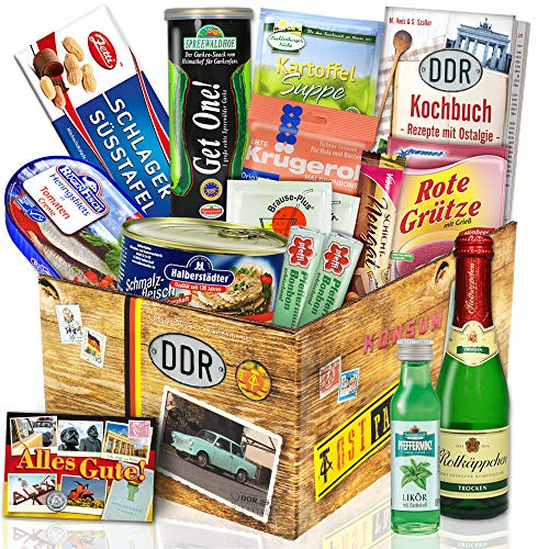 """""""DDR SPEZIALITÄTEN BOX"""" Waren DDR Geschenkverpackung"""