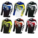 O'Neal Element Racewear MX Motocross Jersey Shirt Enduro Offroad Motorrad Quad Cross Erwachsene, 0008