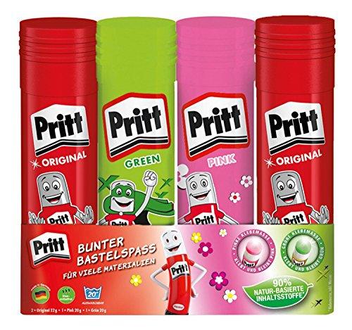 pritt-pk6mr-klebestift-mix-2-originalsticks-22-g-1-gruner-und-pinker-20-g-starkster-europas