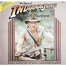 the story of indiana jones & the temple of doom LP