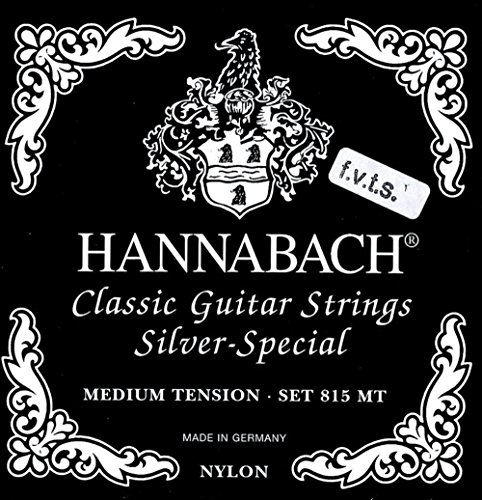 Hannabach 652551 Klassikgitarrensaiten Serie 815 F.V.T.S Medium/High Tension Silver Special - FMT Satz