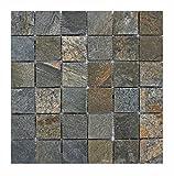 Q-008 Quarzit Naturstein Mosaik Wand Bodenfliesen Badezimmer Design Fliesen Lager Verkauf Herne NRW