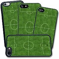 Cover Apple iPhone - Stampa Calcio Campo Sportivo Erbetta Verde - Apple iPhone 6 6S
