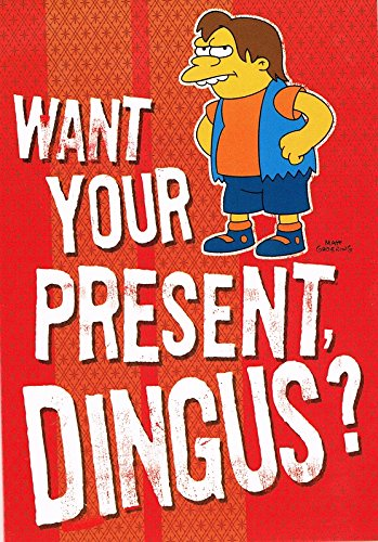 nelson-want-your-present-dingus-simpsons-birthday-card