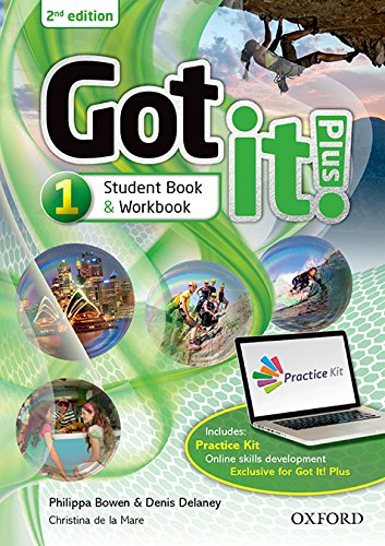 Got It! Plus (2nd Edition) 1. Studen's Book + Workbook with CD Pack (Got It Second Edition) por Philip Bownen