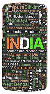 Kasemantra My India Typo Case For Htc Desire 828