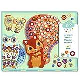 Djeco Kreativ Set Mosaikbilder Milfiori Waldtiere