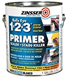 #9: Rust-Oleum Bulls Eye 1-2-3 Water-Base Wall Primer-Sealer & Stain Killer