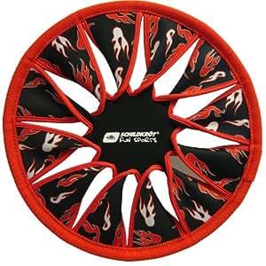 Schildkröt Fun Sports Néoprène Disc Frisbee Noir-Rouge diamétre 29 cm