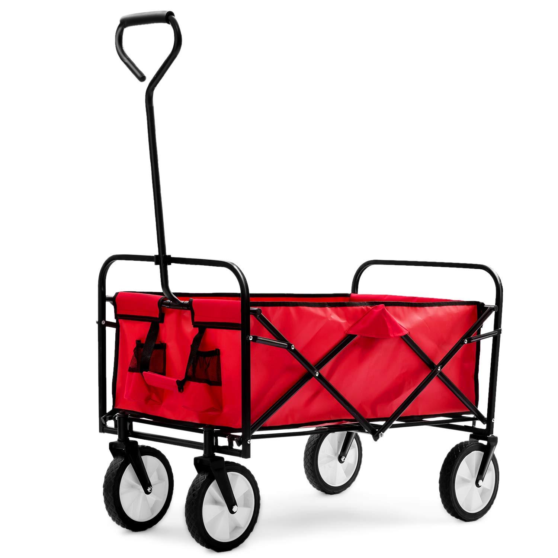 Carrello Pieghevole Da Campeggio.Life Carver Garden Carrello Pieghevole Da Giardino Con Pull Wagon Garden Trasporto Carrello Pieghevole Protable Carrello Per Outdoor Campeggio Bbq