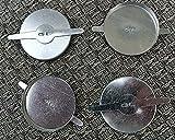 folia® 4 Teelichthalter für Laternen Metall 4cmø Bastelbedarf