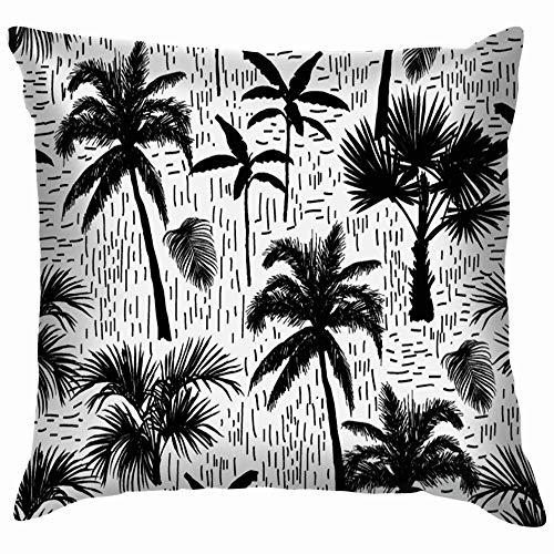beautiful& Botanical Soft Cotton Linen Cushion Cover Pillowcases Throw Pillow Decor Pillow Case Home Decor 18X18 Inch
