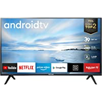 TCL 32ES561 LED Fernseher 80 cm (32 Zoll) Smart TV (HD, Triple Tuner, Android TV, Prime Video, HDR, Micro Dimming, Dolby…