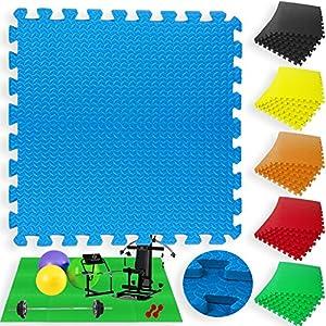 Kesser® 12er Set Bodenmatten ✓ Turnmatte ✓ Fitnessmatte ✓ Unterlegmatte ✓ Schutzmatte ✓ Bodenschutz ✓ Matte | Puzzlematte | verschiedene Farben