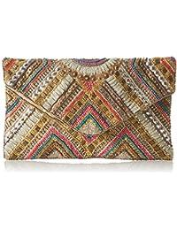 XYXYX Damen Sequins Bag Clutch, 1x15x26 cm