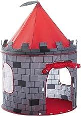 deAO Tenda del Gioco per i Bambini - Progettazione Divertente Castello Rosso