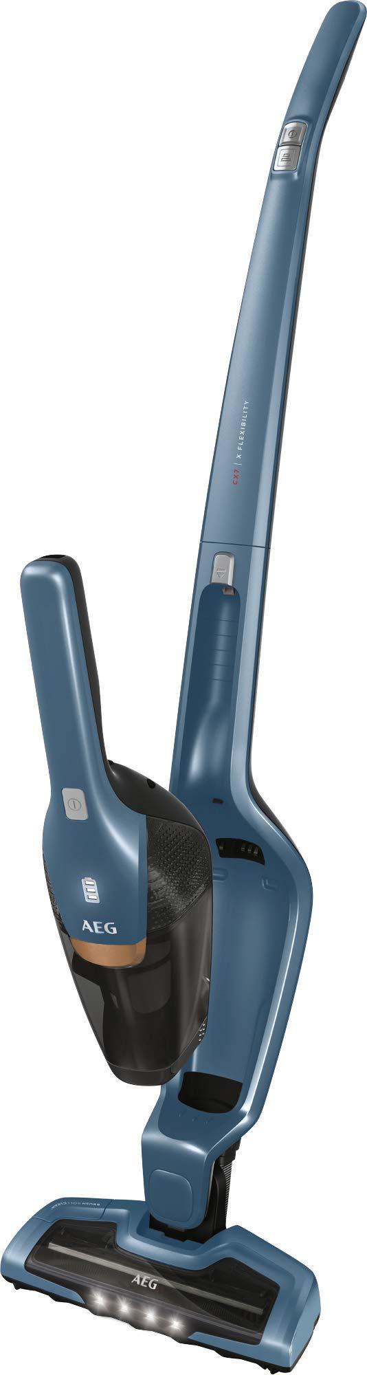 AEG Ergorapido CX7-2-45IM beutel- & kabelloser 2in1 Akku-Handstaubsauger + AEG AKIT15 Allergy Kit für CX7 & HX6 zur Auto…