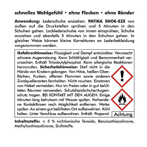 ABACUS PATIKA SHOE-EZE 300 ml (4275) - Lederdehnung Stretchspray Schuhdehner für Lederschuhe Lederdehner Lederdehnspray