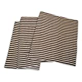 Impressions Striped Cotton Blanket , Ful...
