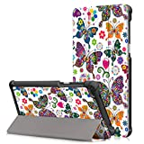 SongNi Lenovo Tab 7/Tab 4 7inch Cover, Ultra Slim Lightweight PU Leather Stand Cover Cover for Lenovo Tab 7/Tab 4 7inch(TB-7504F/N/X) 2017 Tablet