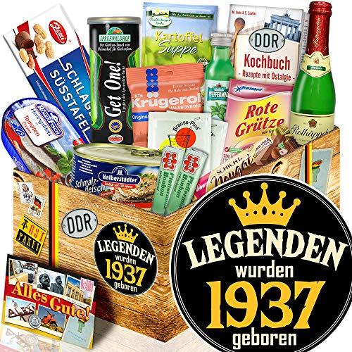 Legenden 1937 / 82. Geburtstag, 83. Geburtstag / Ostpaket DDR Spezialitäten