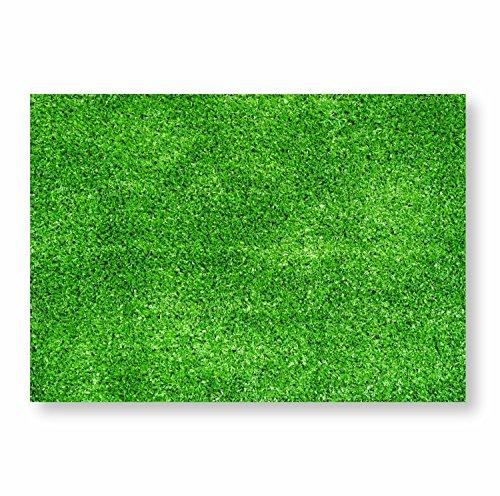 #detailverliebt 100Tovagliette di carta Prato I DV 331I Din A3I Tovagliette spazio coperte da tavolo sottofondo in carta modern monouso naturale Calcio Fan articolo verde