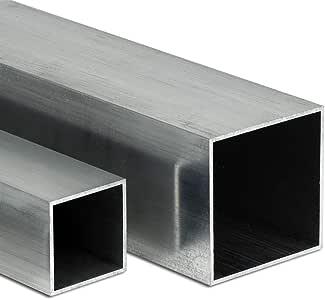 50cm L: 500mm Aluminium Rechteckrohr AW-6060-140x20x3mm auf Zuschnitt