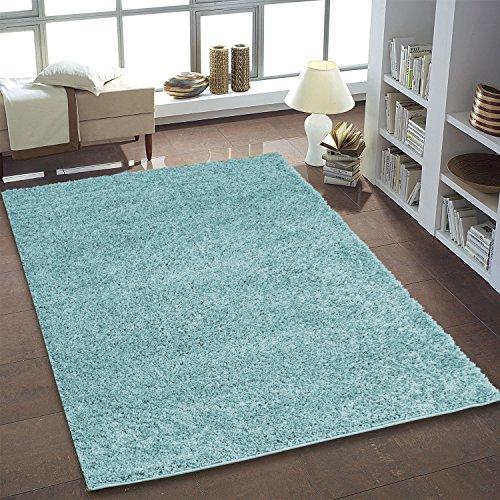 Hochflor Shaggy Langflor Teppich Flokati Pastell für das Wohnzimmer, Schlafzimmer und das...