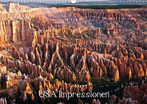 USA Impressionen (Wandkalender 2017 DIN A3 quer): Impressionen aus Kalifornien, New Mexico, Wyoming, Utah und Hawaii (Geburtstagskalender, 14 Seiten ) (CALVENDO Orte) (Yellowstone Park Romantik)