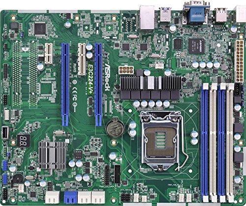 Asrock e3C224-V + Server/Workstation Mainboard (Sockel 1150, Intel C224, DDR3, S-ATA 600, ATX) (Mainboard Ddr3 Server)
