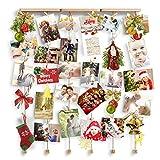 Love-KANKEI Cornice portafoto - Cornice multipla per foto da parete wall decor- 30 foto
