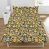 Despicable Me Minions Double Quilt Duvet Cover with 2 Pillows Dreamtex by Despaicble me