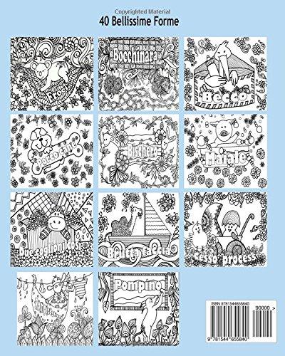 Libro anti stress libro da colorare per adulti con for Animali da colorare per adulti