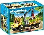 PLAYMOBIL 6813 - Holztransporter mit...