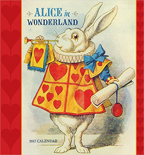 Alice in Wonderland 2017 Wall Calendar