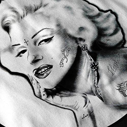 Monroe Légende Célébrité Femme NOUVEAU Noir S-2XL Sweat-Shirt | Wellcoda Noir