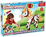 Plastwood 0603 – Supermag 3D Pony – Construction Toy, bunt