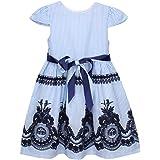 Kleinkind Kurzarm Kleider Baby M/ädchen Kurzarm Blumenkleid Princess Romper Dresses Kleidung 6M-24M Blumendruckkleid IZHH Kinder Kleider
