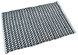 Raya Home Singal Piece Bathmat-Doormat - 50x80x1 CM- Grey
