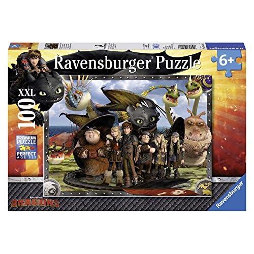 Dragons - Puzzles 100 Piezas XXL (Ravensburger 10549 6) 6