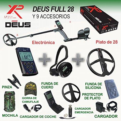 Detector de metales Xp Deus Full 28