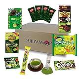 Japanese Matcha Green Tea Sweets and Snacks assortment gifts 9 pcs