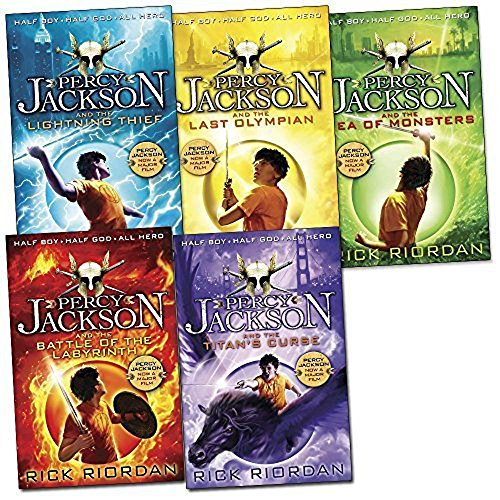 Price comparison product image Percy Jackson Collection - 5 Books