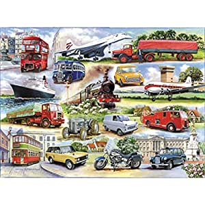 1000 Piece DeLuxe Jigsaw Puzzle - Golden Oldies