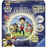 Paw Patrol - Puzzle 3D lámpara nocturna (Ravensburger 12187 8)