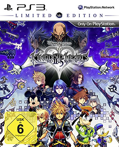 Ps3 Hearts Kingdom (KINGDOM HEARTS HD 2.5 ReMIX - Limited Edition)