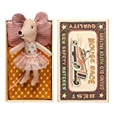 MAILEG Ratoncito Pérez 16-6772-00, Hermana pequeña en caja de cerillas